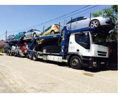 Transport autoturisme Anglia-Romania