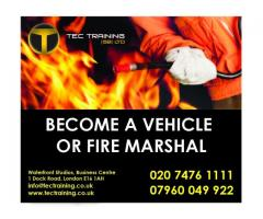 TRAFFIC MARSHALL + FIRE + EMERGENCY FIRST AID=£140.00