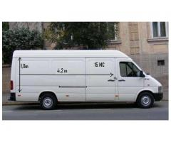Man and van, furniture movers, parcels or any other merchandise
