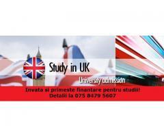 STUDIAZA LA UNIVERSITATE IN MAREA BRITANIE SI PRIMESTE FINANTARE PENTRU STUDII SI TRAI!!!