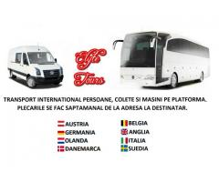 Ttransport persoane si colete cu microbuze si autocare