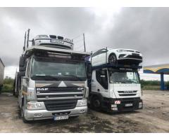 Transport masini pe platforma Anglia-Romania