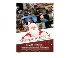 """Susține Campania Umanitară ,,Fii Moș Crăciun pentru o zi"""" din 10-25 Decembrie"""